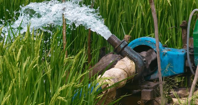 irrigation booster pump
